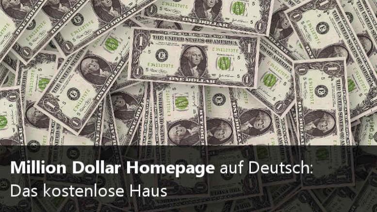 Million Dollar Website