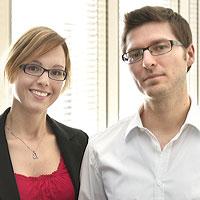 Andrea Wittek und Robert Freudenreich