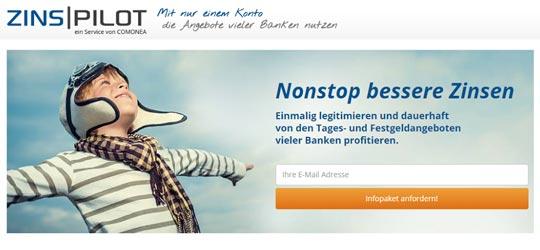 Zinspilot - Sparen