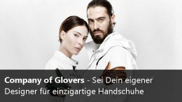 Designe edle Handschuhe