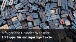 10 Tipps für einzigartige Texte