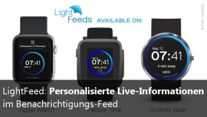 LightFeeds Apple Watch