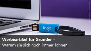 Werbeartikel für Gründer
