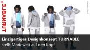 Modedesign von TURNABLE