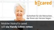 b-cared Mobiler Notruf
