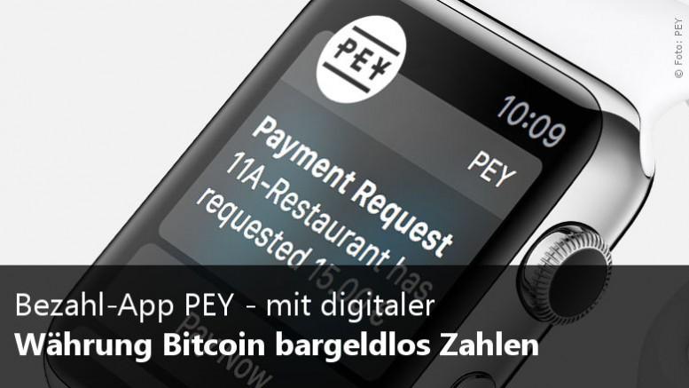 Bitcoin Bezahl App PEY