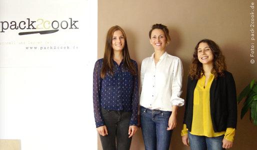 Das pack2cook Gründerteam