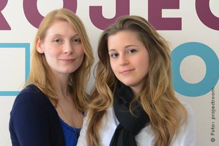 Die projectroom Gründerinnen