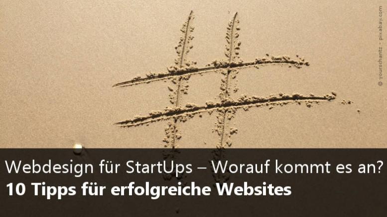 Webdesign für Startups