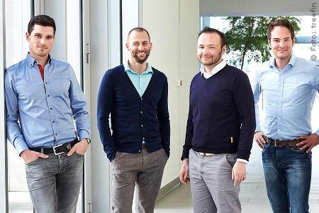 treefin Fintech-Gründerteam
