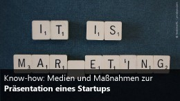 Marketing für Startups