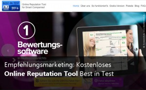 Reputation mit Best in Test