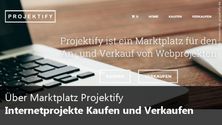 Marktplatz für Webprojekte Projektify