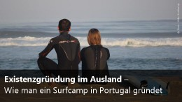 Slide Surfcamp in Portugal