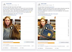 Facebook-Likes von Gusti-Leder