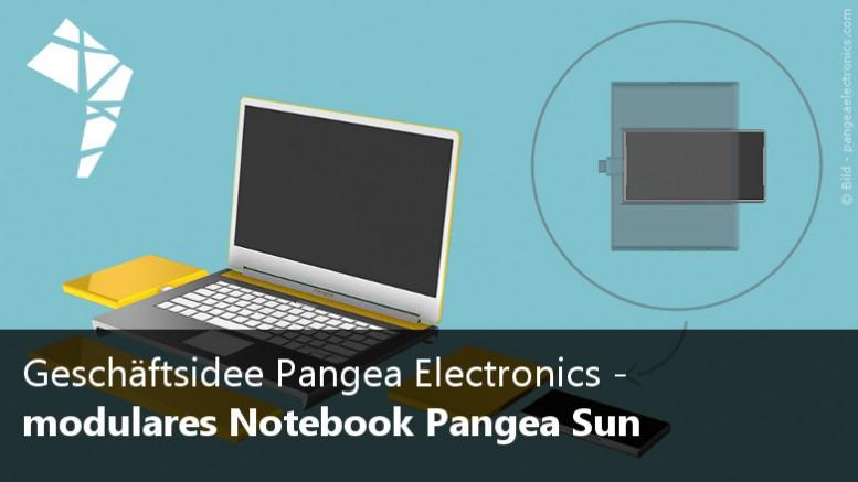 Pangea Sun Notebook modular