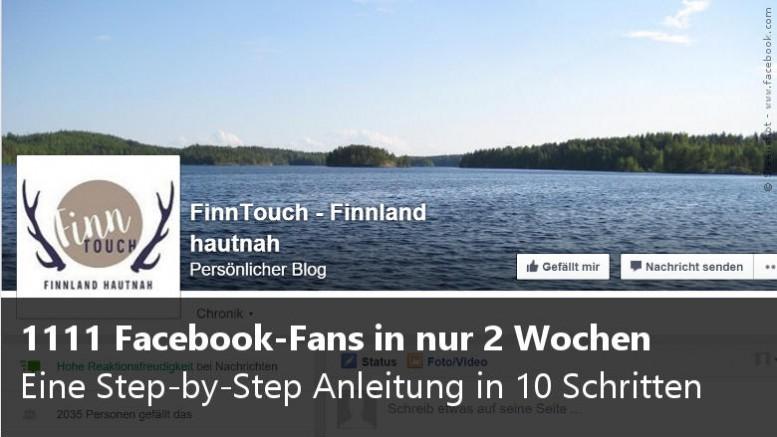 Facebook Fans bei FinnTouch