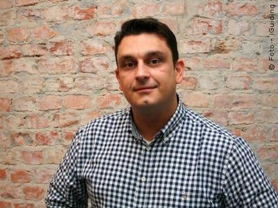 Patrick Schulz baut sein Startup iGuiding Lean auf