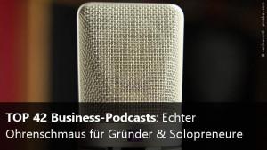 Deutsche Podcasts für Startups und Gründer
