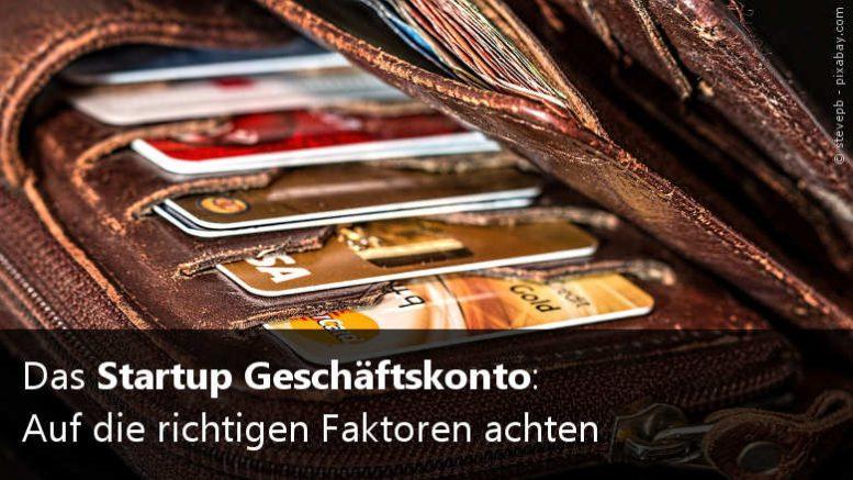 Geschäftskonto für Startups
