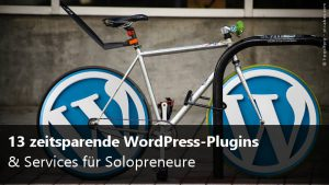 13 WordPress-Plugins