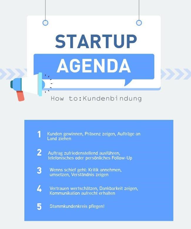 Kundenbindung Startups