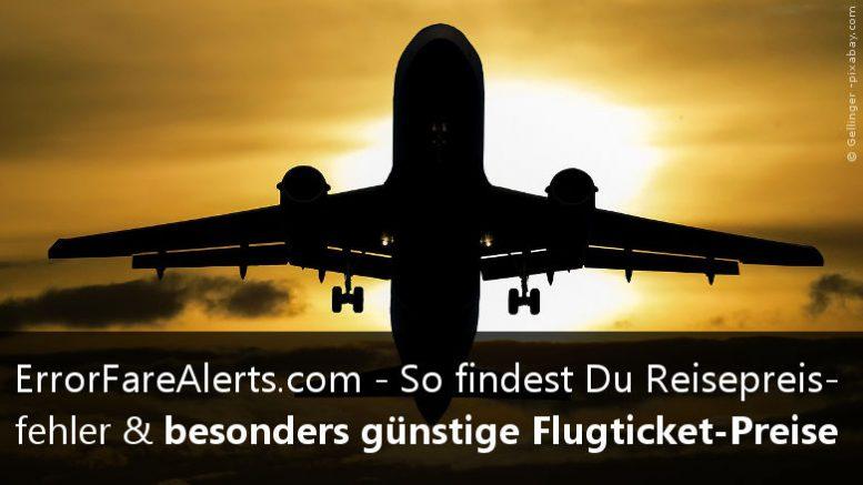 Flugpreisfehler