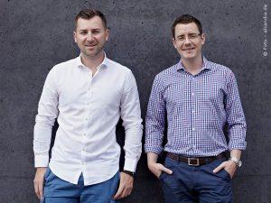 Das Alcandia Gründer-Duo