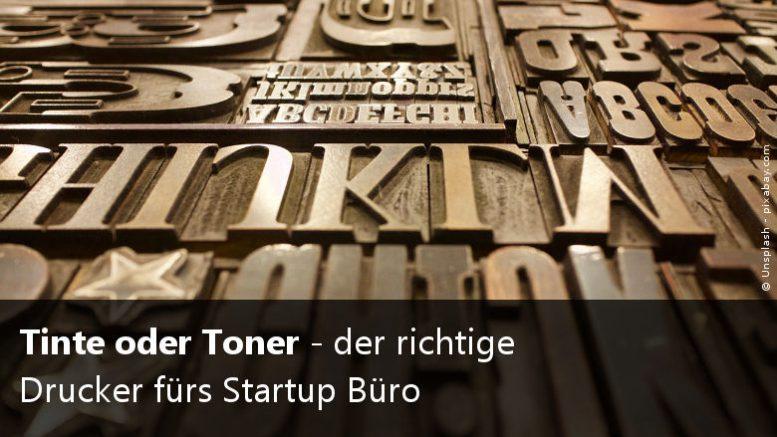Toner vs. Tintendrucker