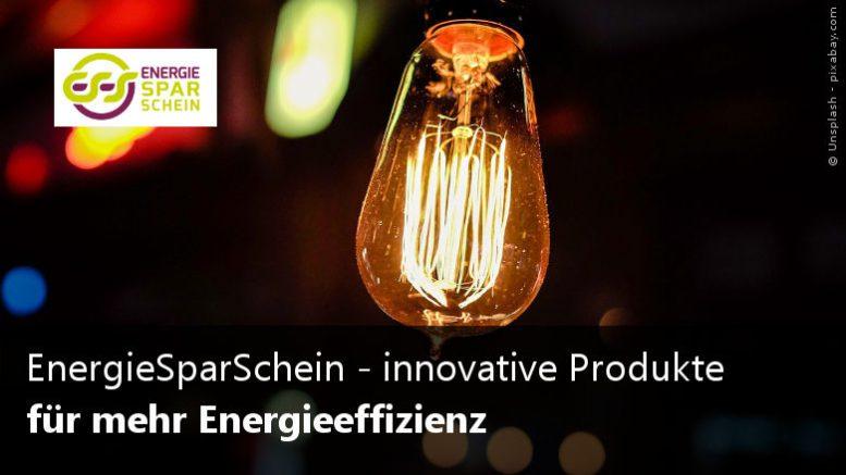 EnergieSparschein Energieeffizienz