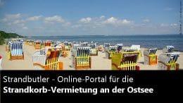Strandbutler Strandkorb Vermietung