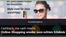 me cash - Cashback