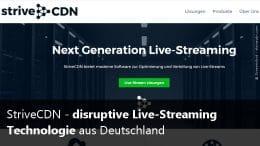 Strive CDN Live Stream