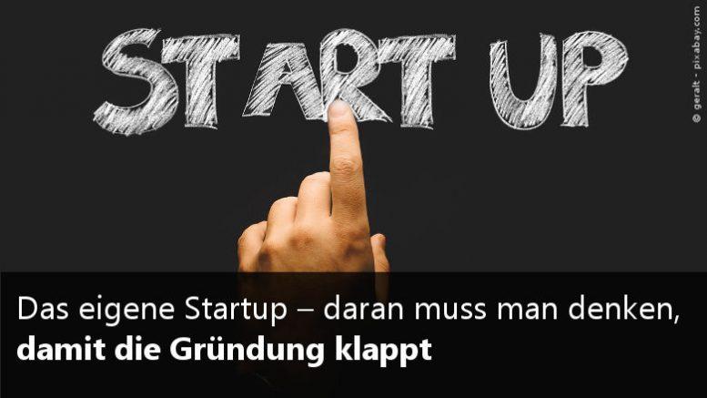 Startup Tipps