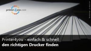 printer4you - Drucker finden