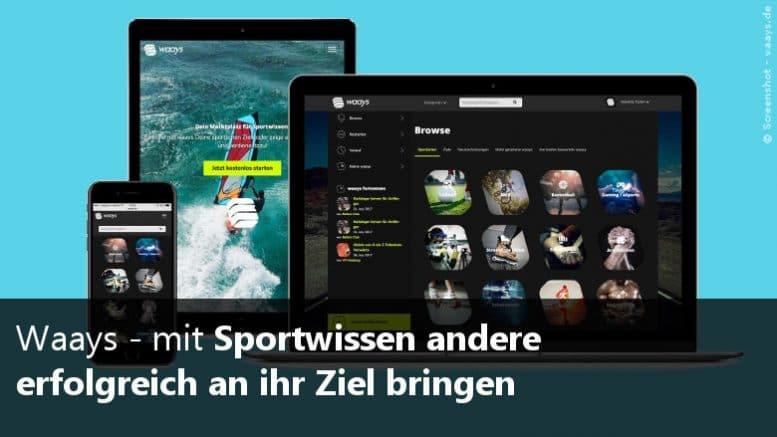 Sportwissen vermarkten