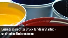 Businessdruck