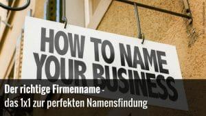 Der perfekte Name