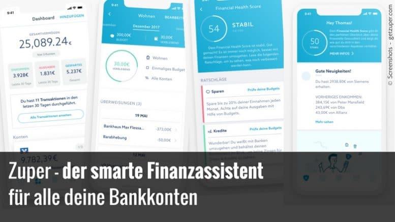 Finanz-App Zuper