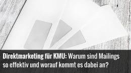 Direktmailings für KMU
