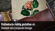 Vistenkarte & Corporate Design