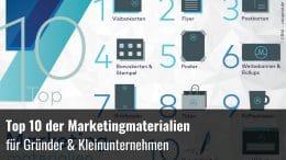 Top Marketinginstrumente Gründer