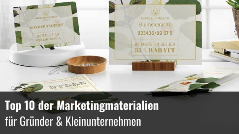 Top 10 Marketingmaterial