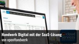 SaaS-Lösung openhandwerk