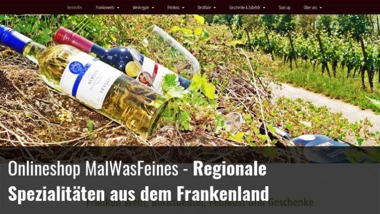 MalWasFeines - Wein Franken