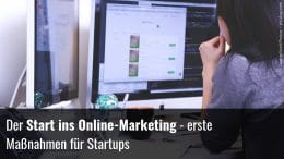 Digitales Marketing Startup