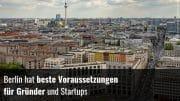 Startups Hauptstadt