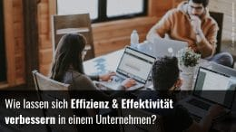 Effektivität im Unternehmen