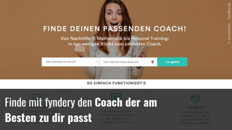 perfekten Coach finden