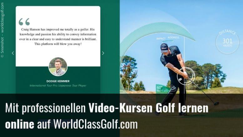 Golf lernen online